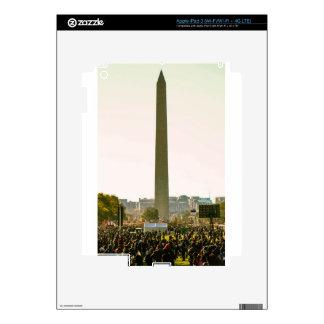 Washington Monument Skins For iPad 3