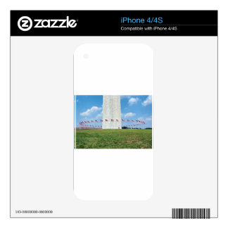Washington Monument Skins For iPhone 4S