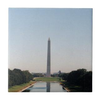 Washington Monument Small Square Tile