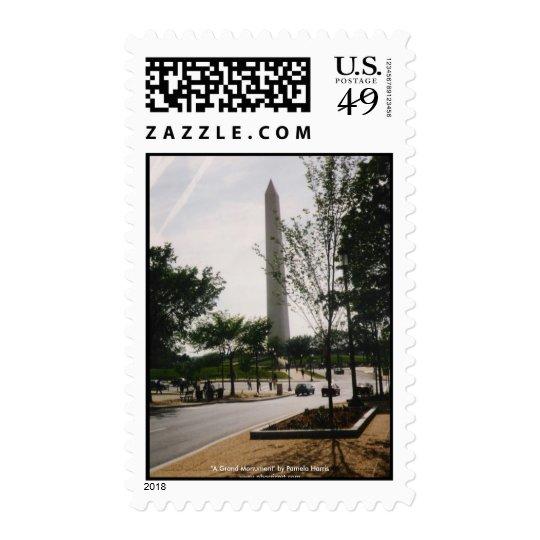 Washington Monument Stamp