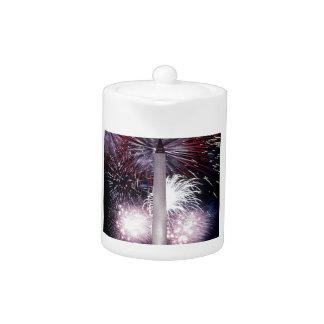 Washington Monument Teapot