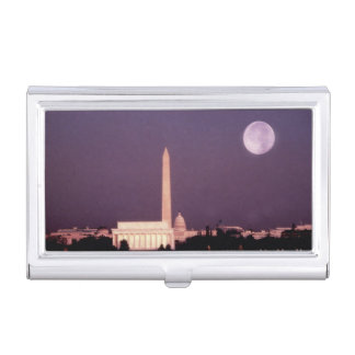 Washington Monument, the Capitol and Jefferson Business Card Holder