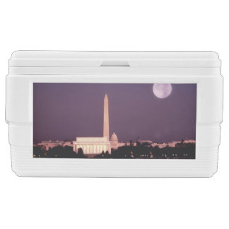 Washington Monument, the Capitol and Jefferson Chest Cooler