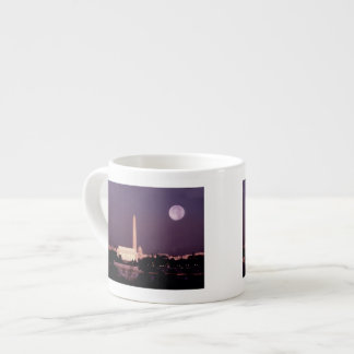 Washington Monument, the Capitol and Jefferson Espresso Cup