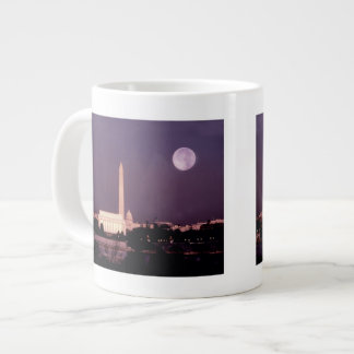 Washington Monument, the Capitol and Jefferson Giant Coffee Mug