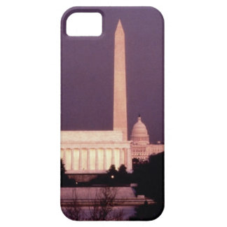 Washington Monument, the Capitol and Jefferson iPhone SE/5/5s Case
