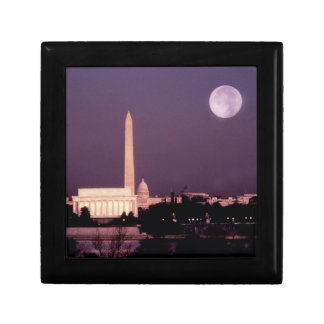 Washington Monument, the Capitol and Jefferson Jewelry Box