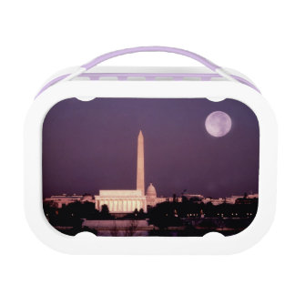 Washington Monument, the Capitol and Jefferson Lunch Box
