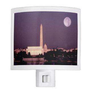 Washington Monument, the Capitol and Jefferson Night Light