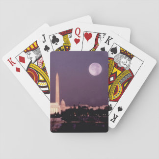 Washington Monument, the Capitol and Jefferson Playing Cards