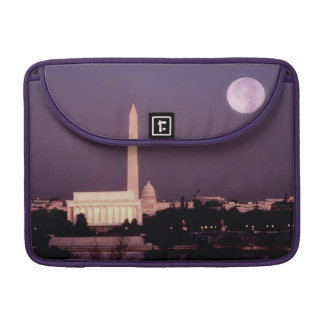 Washington Monument, the Capitol and Jefferson Sleeve For MacBook Pro