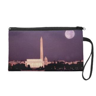 Washington Monument, the Capitol and Jefferson Wristlet Purse