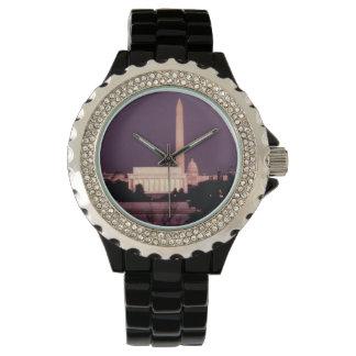 Washington Monument, the Capitol and Jefferson Wristwatch