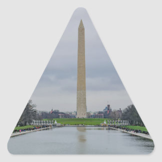 Washington Monument Triangle Sticker