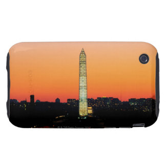 Washington Monument Under Restoration at Sunset iPhone 3 Tough Cover