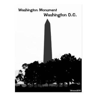 Washington Monument, Washington D.C. Postcard
