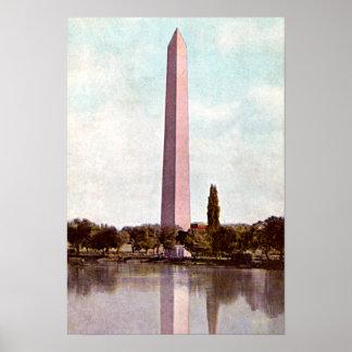 Washington Monument Washington DC 1910 Poster