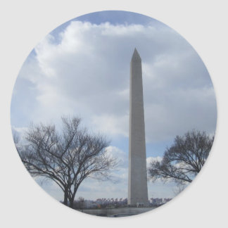 Washington Monument Washington DC Classic Round Sticker