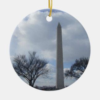 Washington Monument Washington DC Christmas Ornament