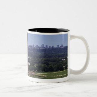 Washington Monument, Washington DC Two-Tone Coffee Mug