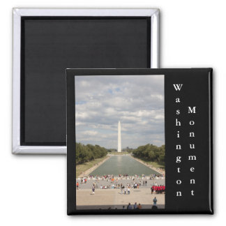 Washington Monument, Washington DCWashington Monum 2 Inch Square Magnet