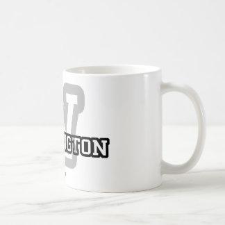 Washington Classic White Coffee Mug