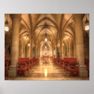 Washington National Cathedral Bethlehem Chapel Poster