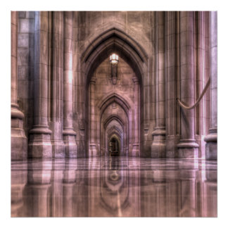 Washington National Cathedral Reflections Poster