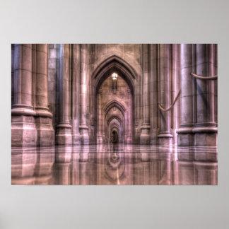 Washington National Cathedral Reflections Poster