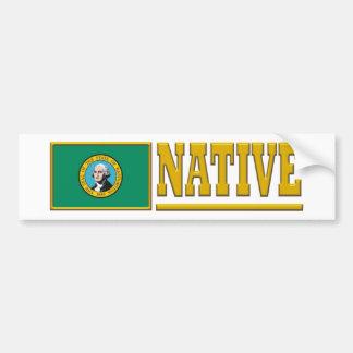 Washington Native Bumper Stickers