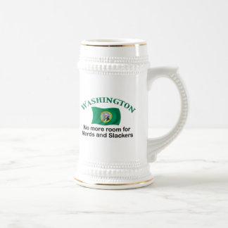 Washington - No More Nerds Beer Stein