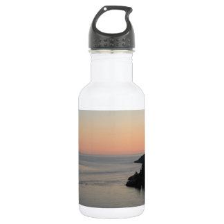 Washington Ocean View Sunset Water Bottle