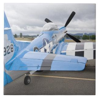 Washington, Olympia, airshow militar. 3 Azulejo Cuadrado Grande