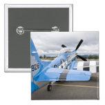 Washington, Olympia, airshow militar. 3 Pin Cuadrado
