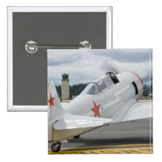 Washington, Olympia, airshow militar. 6 Pin Cuadrado