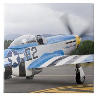 Washington, Olympia, airshow. militar Azulejo Cuadrado Grande