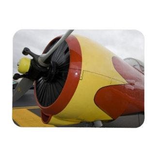 Washington, Olympia, airshow. militar Imanes Rectangulares