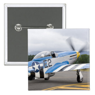 Washington, Olympia, airshow. militar Pin Cuadrado