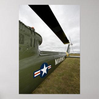 Washington, Olympia, airshow. militar Póster