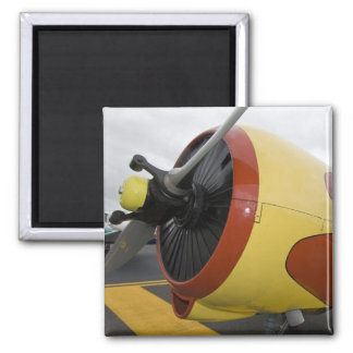 Washington, Olympia, military airshow. 2 Inch Square Magnet