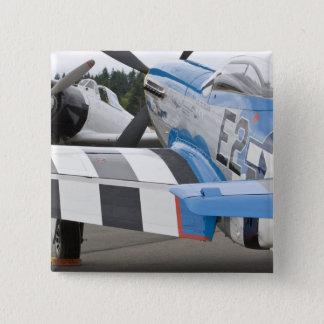 Washington, Olympia,  military airshow. 4 Pinback Button