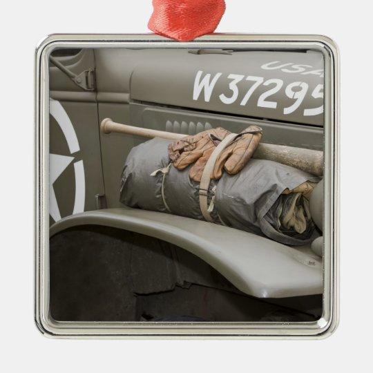 Washington, Olympia, military airshow. 7 Metal Ornament