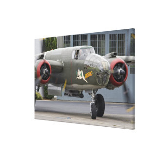 Washington, Olympia, military airshow. Gallery Wrapped Canvas