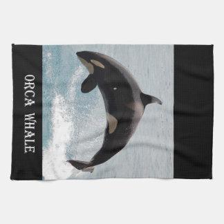 Washington Orca Whale Kitchen Towels