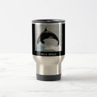 Washington Orca Whale Travel Mug