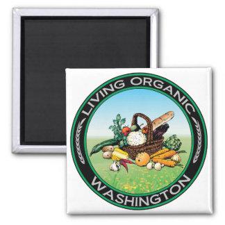 Washington orgánico imán