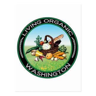 Washington orgánico postales