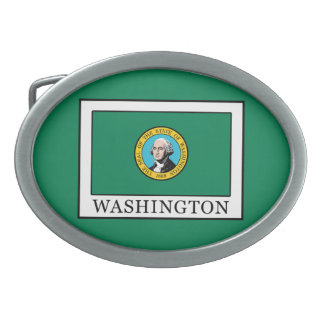 Washington Oval Belt Buckle
