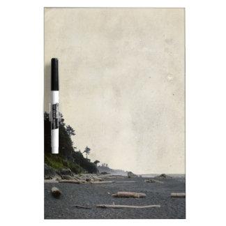 Washington Pacific Beach Sandy Shoreline Coast Dry-Erase Board