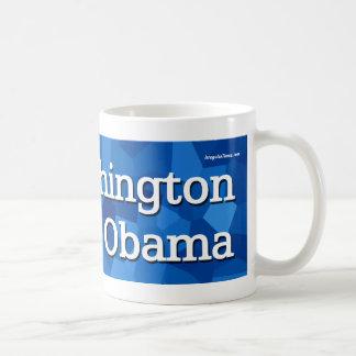 Washington para Barack Obama Taza Clásica